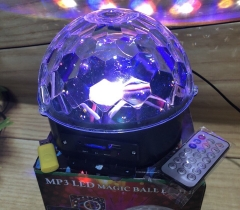 ĐÈN CẦU MP3 LED MAGIC BALL LIGHT AC 100-240V ( 50-60HZ )